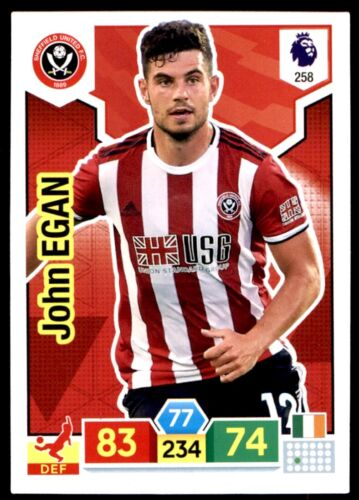 John Egan Sheffield Utd no Panini Premier League ADRENALYN XL 2019//20 258