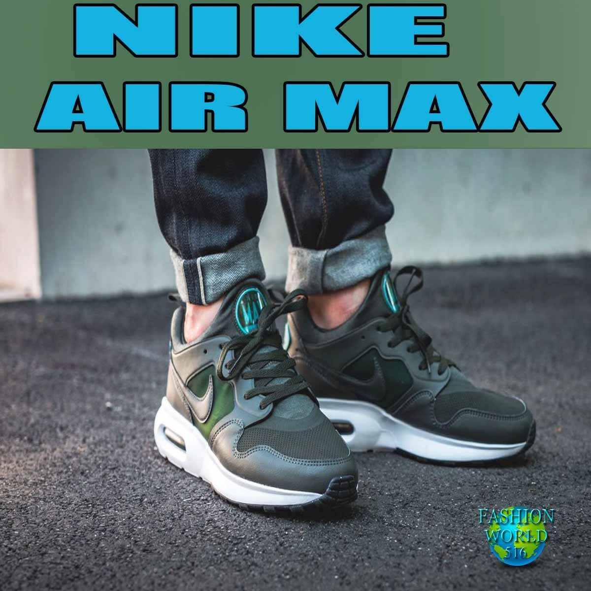Nike Men's Size 9 Air Max Prime SL Running Shoes 876069 Sequoia Green/Blustery
