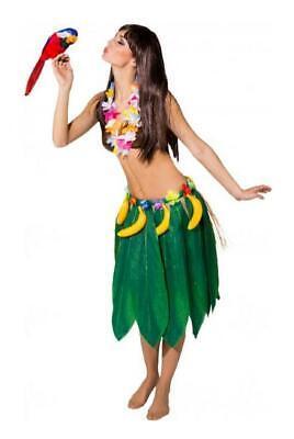 Hawaii Foglie Abito Costume Palmblätter Nei Mari Del Sud Caraibi Fiori Fiori Catena Rock-mostra Il Titolo Originale