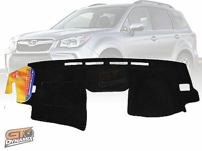 Dash Mat Suit Subaru Forester SK September 2018 On Black With Eyesight Monitor