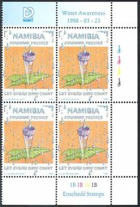 Namibia-1998-World-Water-Day-Nature-Environment-Conservation-4v-c-b-n16596