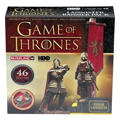McFarlane Toys Game of Thrones Building Set - Lannister Banner Pack
