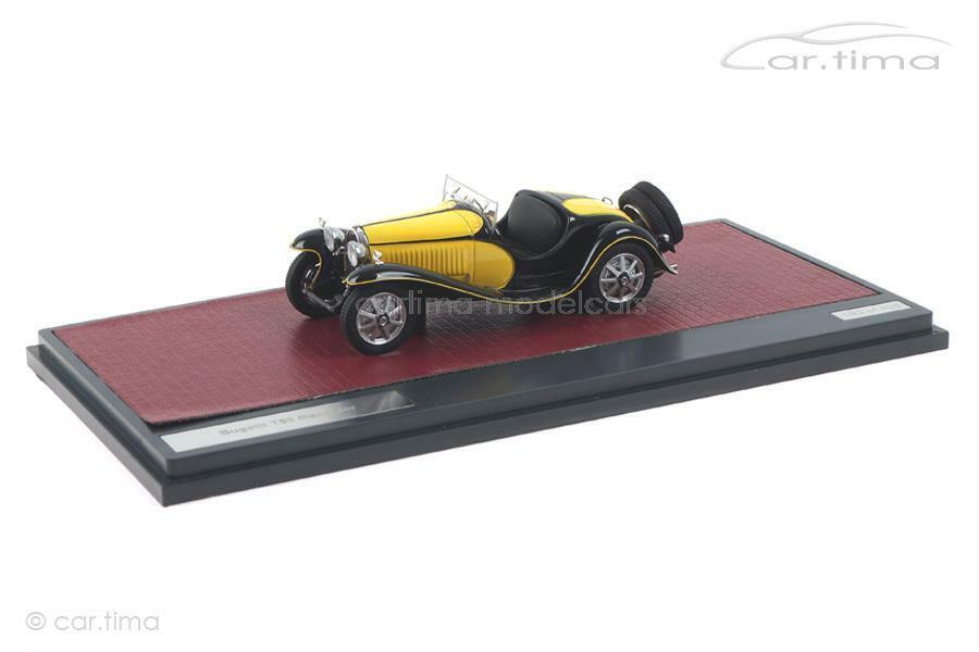 el mas de moda Bugatti t55 roadster-amarillo negro-Matrix negro-Matrix negro-Matrix 1 43 - mx40205-071  autentico en linea