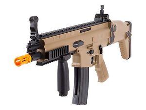 400 fps officially licensed fn scar l mk16 spring airsoft rifle gun