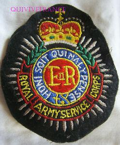 BG7727 - ECUSSON PATCH ROYAL ARMY SERVICE CORPS rFlQMqEl-09085210-503294436