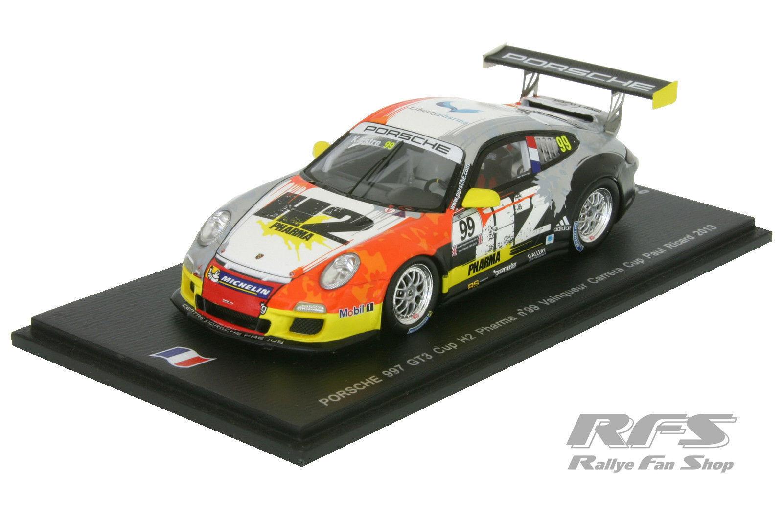 Porsche 997 gt3 Cup Team attempo Racing Estre-Carrera Cup 2013 1 43 Spark
