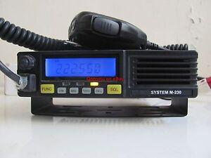 Details about System M-230 (AT-5189) VFO 220 MHz 1 25 Meter ~50 Watt HAM  Radio Transceiver NIB