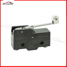 2pcs Lot Heavy Duty 15a Spdt Snap Action Roller Lever Arm Micro Limit Switch New
