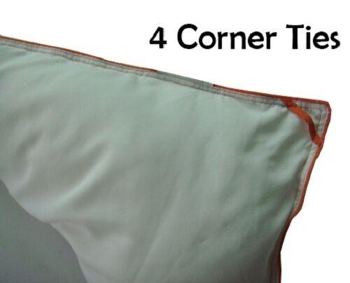 300 Thread Count Stripe Luxurious Down Comforter Cotton Four Seasons