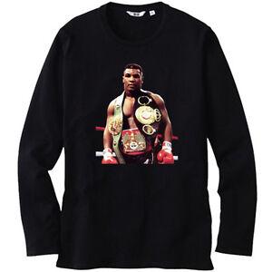 "New Mike Tyson /""Iron Mike/"" Boxing Legend Champ Men/'s Black T-Shirt Size S-3XL"