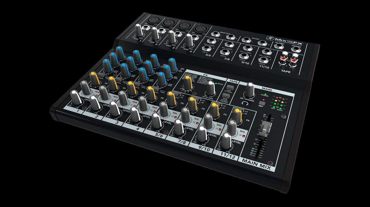 Mackie MIX12FX 12 Channel Mixer