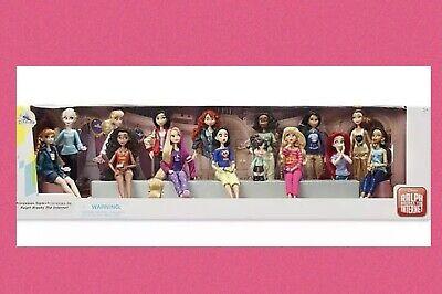 Disney Wreck It Ralph Breaks the Internet Princesses Doll BIG 15 Set New in box