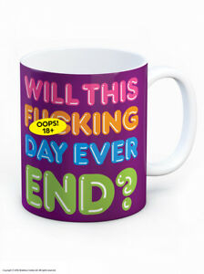 Brainbox Candy funny Stroppy Teenager mug birthday gift present coffee tea cup