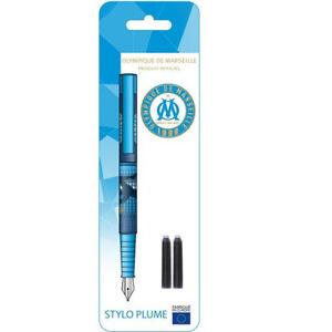Stylo plume OM Olympique de Marseille Enfant Ecole Crayon Neuf Emballé