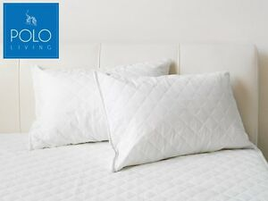 POLO-Pillow-Protector-Pack-of-2-Fully-quilted-with-zip-closure