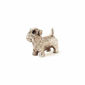 Sealyham-Cane-Terrier-Figura-Realizzato-in-UK-Giappone-Importazione