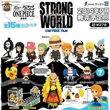 Original Anime Chara Heros One Piece the Movie Film Strong World 15 Pieces