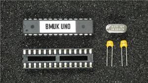 Arduino-UNO-ATMEGA-328P-microcontroleur-avec-Chargeur-Socket-16-MHz-XTAL-amp-Caps