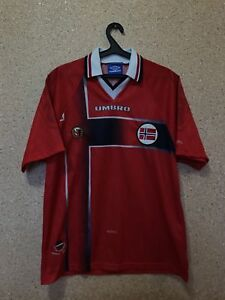 online store 5debd d0df4 Vintage NORWAY NATIONAL TEAM 1997/1998 HOME FOOTBALL SHIRT ...