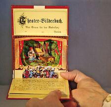 MINI Theater-Bilderbuch Pop-up  4 Märchen- und Weihnachtsszenen zum Aufstellen