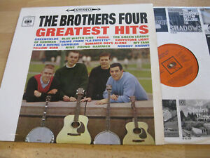 LP-The-Brothers-Four-Greatest-Hits-Greenfields-Frogg-Yellow-Bird-Vinyl-CBS-62313