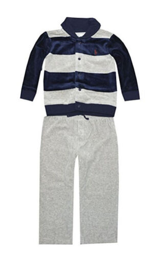 Ralph Lauren Baby Boys/' Striped Velour Set