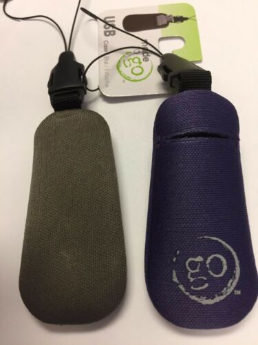 BLK GRAY MAROO HANDSTANDS  USB FLASH DRIVE CASE ASSORTED COLORS 4 PACK PURP