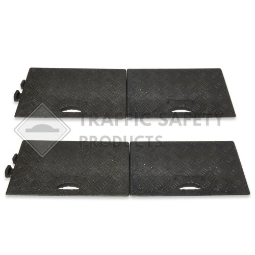 Pack of 4 - VERY HARD WEARING HEAVY DUTY Kerb Ramps Perfect for HGV use