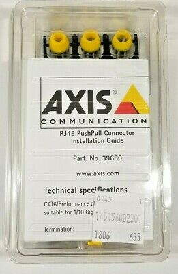 39680 Brand New Axis RJ45 PushPull connector Part No