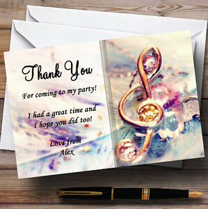 Music-Treble-Clef-Personalised-Party-Thank-You-Cards