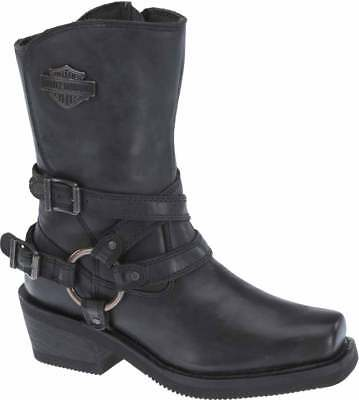 Harley-Davidson Womens Ingleside 8.5 Motorcycle Boots Black or Brown D87091