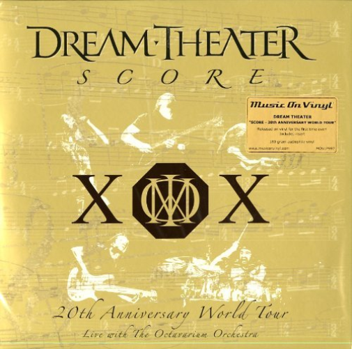 Dream Theater-Score: 20Th Anniversary World Tour (4Lp) (UK IMPORT) VINYL NEW