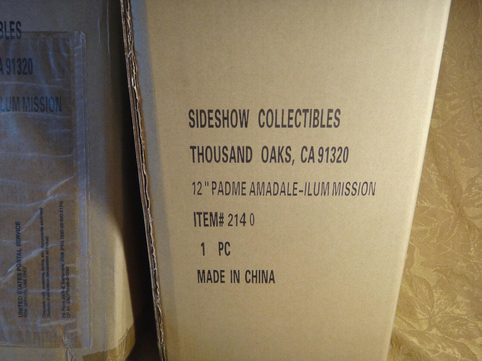 wholesape barato Estrella Estrella Estrella Wars Sideshow Coleccionables Padme Amidala Ilum misión Nuevo En Caja Sellada  tienda de pescado para la venta