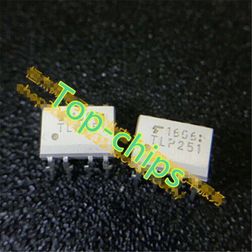 Optoacoplador 10PCS salida lógica de alta velocidad para TLP251 DIP-8 Paquete