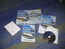 Scandinavian Airports 1 Add-on für MS Flugsimulator PC in BOX mit Anleitung usw.
