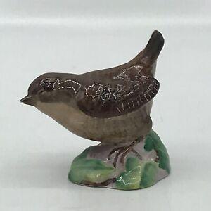 Vintage Beswick BROWN WREN #993 England Bird Figurine No Box