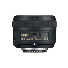 Nikon AF-S FX NIKKOR 50mm f/1.8G Lens for Nikon Cameras - Black