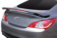 For: Hyundai Genesis Coupe; Unpainted Spoiler Wing Factory Style 2010-2016