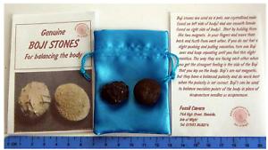 Boji-Stones-Moqui-Marbles-Shaman-Stones-Matched-Pair-Male-amp-Female-POP-ROCKS