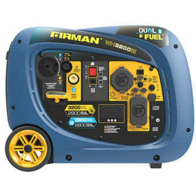 Firman 2900w Running 3200w Peak Gas Inverter Generator No Tax For Sale Online Ebay