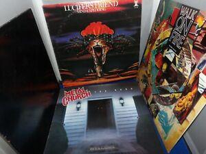 Heavy-Metal-Vinyl-Album-Lot