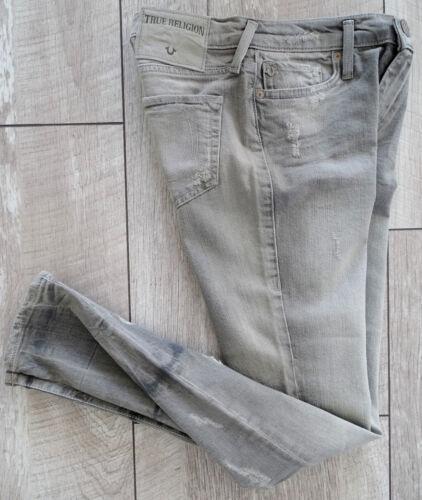 True Jeans Skinny Rise Etiket Super Ladies 30 Nuovo Pantaloni Religion taglia Mid Denim Halle r5YwrZp