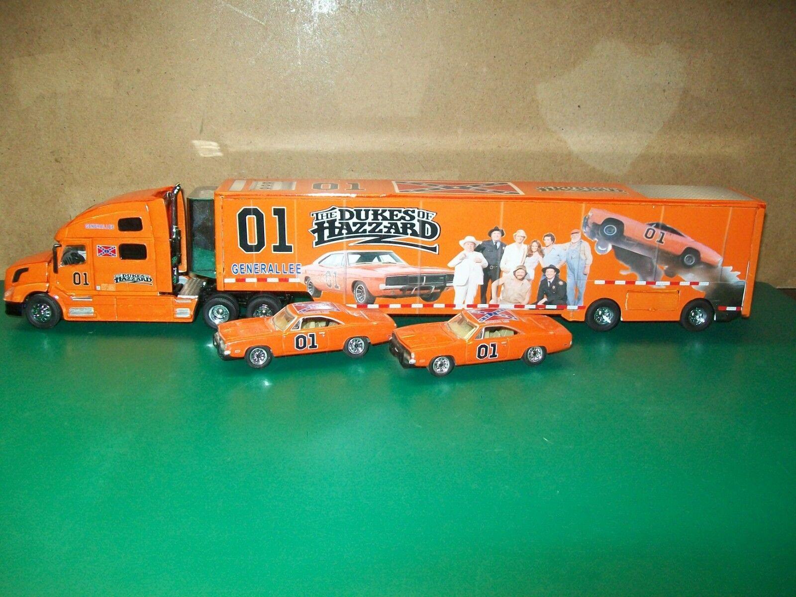 The Dukes Of Hazzard 1/64 Hauler,Transporter Custom Team Caliber,DCP,Speccast