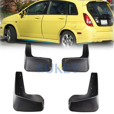 Rubber Moulded Universal Fit Car MUDFLAPS Mud Flaps Fits VW Jetta MK6