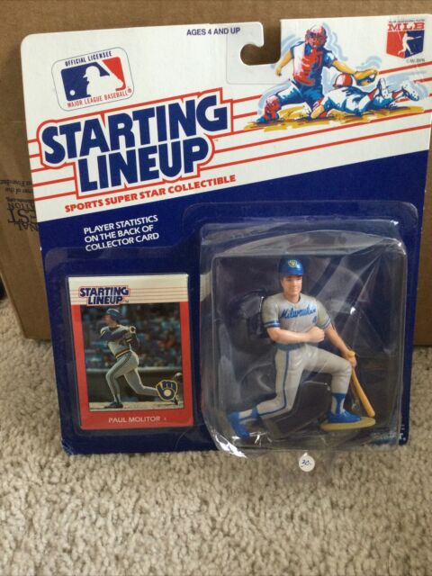 1988 PAUL MOLITOR Milwaukee Brewers #4 Starting Lineup⚾️