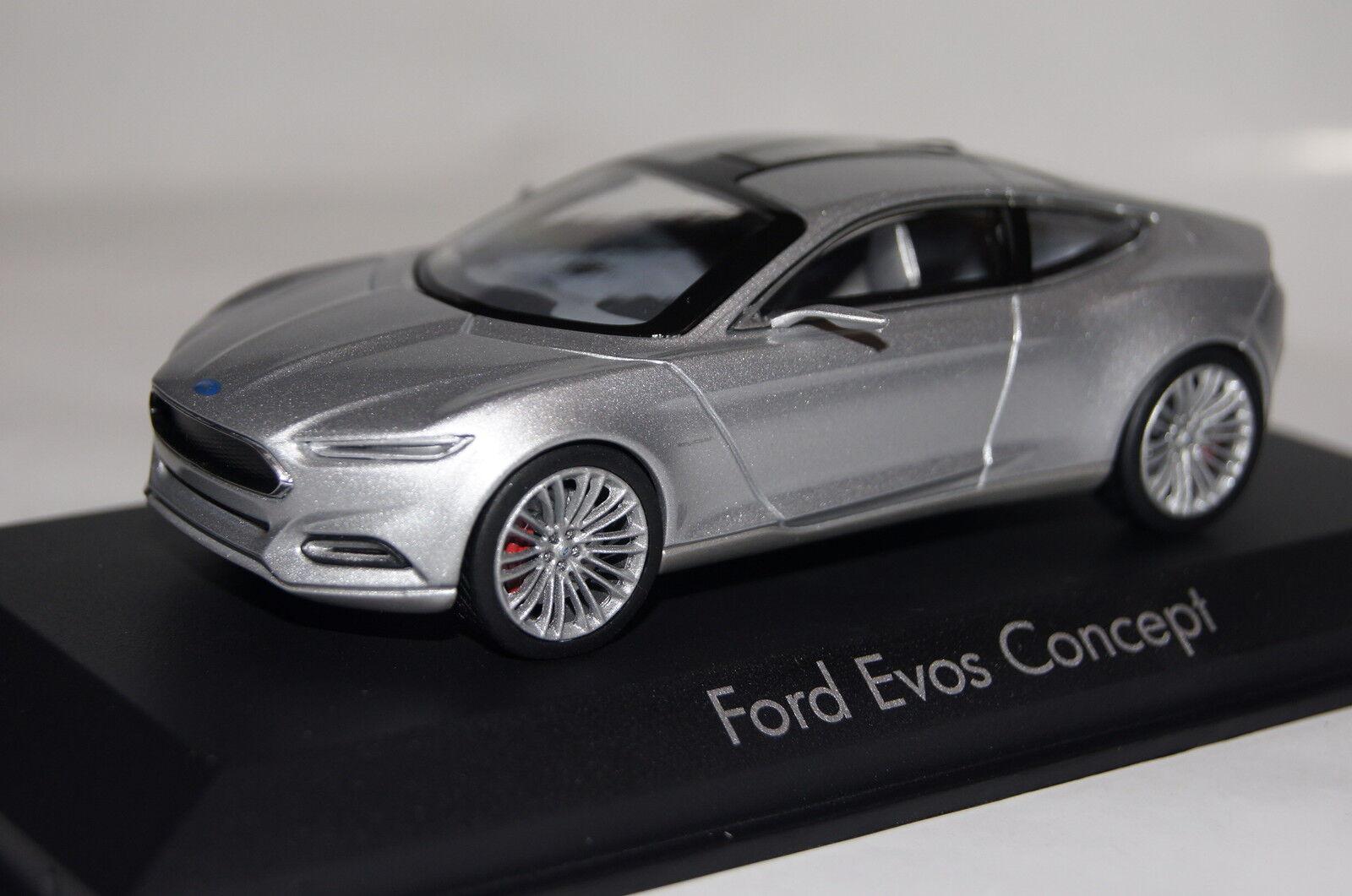 Ford EVOS concept 2012 argent 1 43 NOREV NOUVEAU & OVP 270536