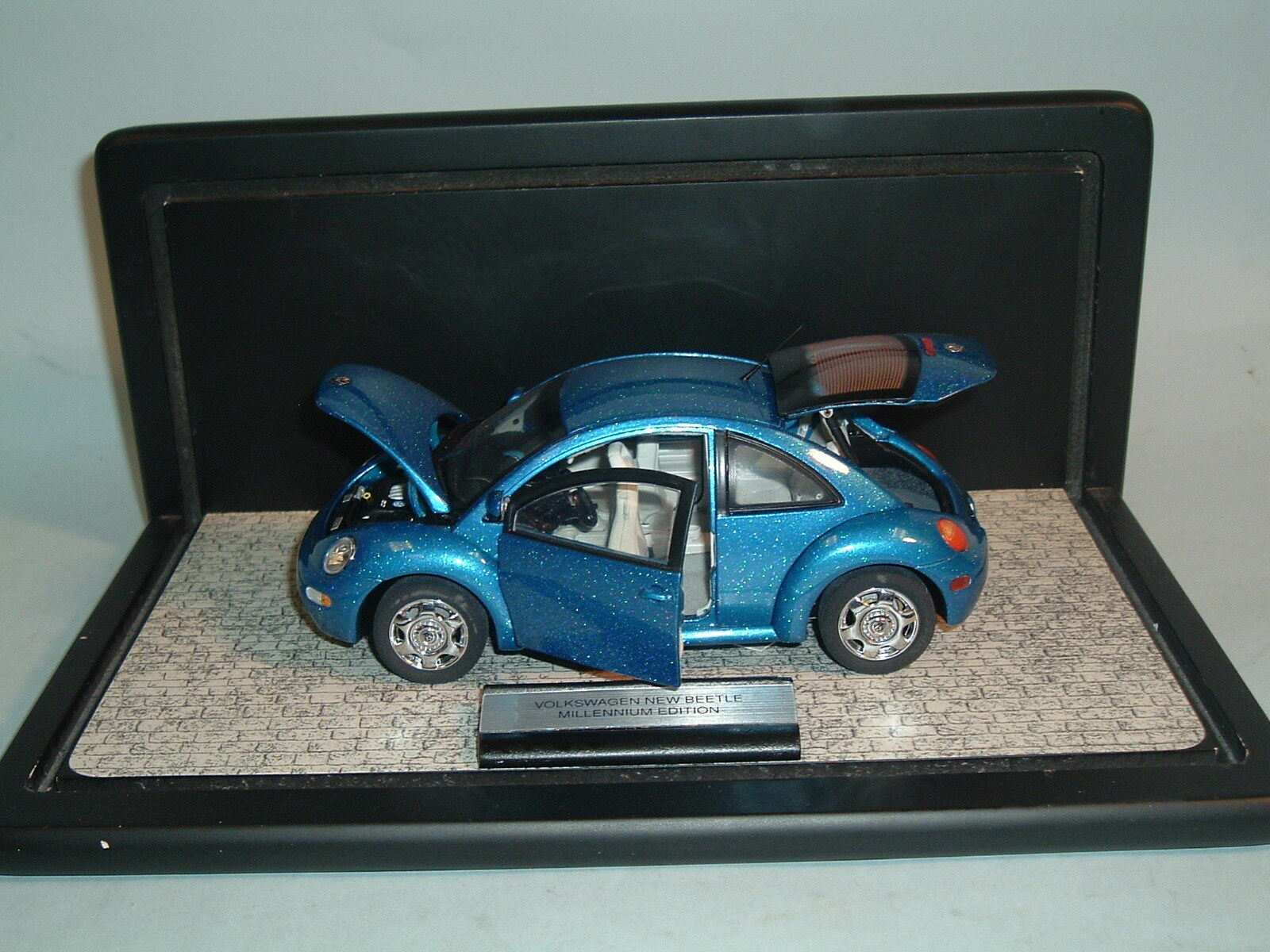 2000 vw käfer blaue le 1046   7500 franklin - mint - dienste druckguss & display