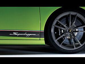 Lamborghini Lp570 Superleggera Side Stripe Decal Sticker Kit