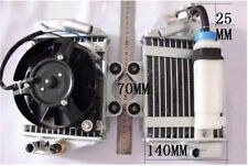 motocross radiator cooler cooling 12V fan Water engine motorcycle dirt pit bike