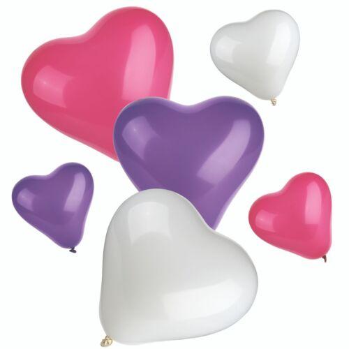 100 ❤ mix love* HEART BALLOONS* brthdy Party Romantic ballon Valentines Birthday